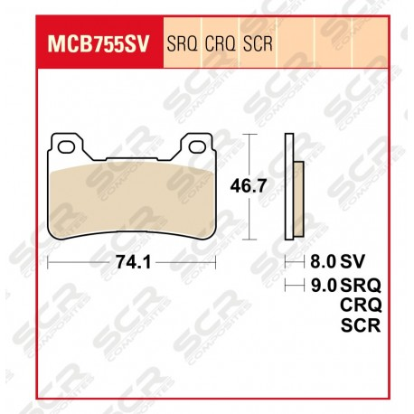 MCB755 SCR Race only