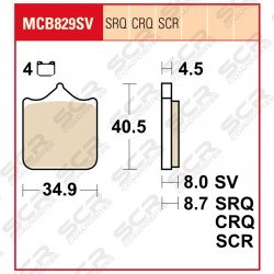MCB829 SCR Race only